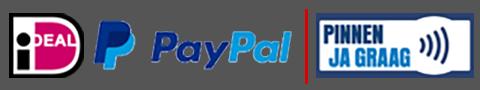 Betalingsmogelijkheden logos